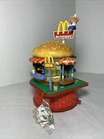 Mcdonalds Deluxe Action Musical Wind Up Music Box Vintage Enesco WORKS Rare