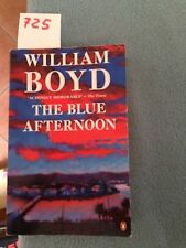 the blue afternoon di william boyd ATT. in  libro inglese OFF GIALLA