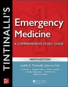 Tintinalli's Emergency Medicine: A Comprehensive Study Guide, 9th edition, Judit