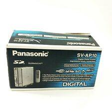 Panasonic Digital Photo Printer E-Wear Thermal SV-AP10 - NO INK