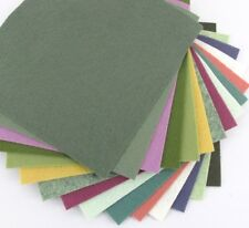 "15 - 9""X12"" Succulent Colors Collection - Merino Wool blend Felt Sheets"