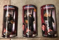 JAMES BOND 007 FIGURE LOT SET TOMORROW NEVER DIES EXCLUSIVE PREMIERE LIMITED EDI