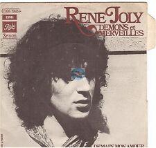 """RENE JOLY démons et merveilles 45T 7"""" à demain mon amour GERARD MANSET"""