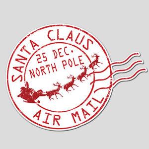 13 - 65 MINI STICKERS SANTA STAMP NOVELTY CHRISTMAS ENVELOPE SEALS POST MAIL