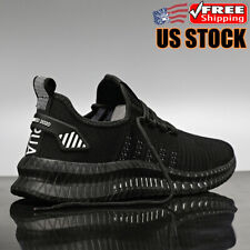 Men's Casual Running Sneakers Sports Breathable Lightweight Walking Shoes Size13