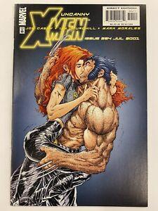 Uncanny X Men 394 Marvel Comics 2001 NM - 9.0 - 9.2 1st & Last App Warp Savant