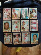 1968 TOPPS PHILLIES LOT OF (24) STARS/COMMONS VG-EX/MT GROBEE1957 SET BREAK
