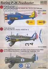 Print Scale Decals 1/72 BOEING P-26 PEASHOOTER Fighter