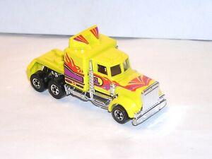 Vintage Hot Wheels Blackwall Long Shot Semi Truck **BLUE LIGHT SPECIAL**