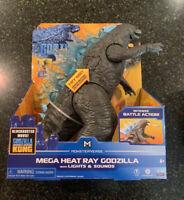 "Godzilla vs. Kong Mega Heat Ray GODZILLA with Lights & Sounds Playmates Toys 13"""