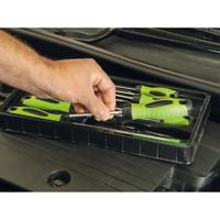 Sealey Tools 8Pce Hi - Viz BRIGHT Green Mixed Screwdriver Set Flat Pozi Phillips