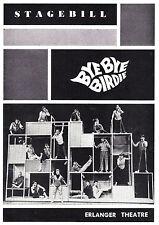 "Joan Blondell ""BYE BYE BIRDIE"" Elaine Dunn / Bill Hayes 1961 Chicago Playbill"