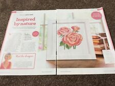 Roses bouquet pattern cross stitch chart only / 43