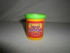 *Replacement Part Only* Grape Escape *Yellow Goop Container Jar* Clay Board Game