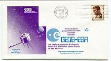 1977 Geos-Esa Magnet Electric Fields Earth Equator Delta Cape Canaverla USA SAT