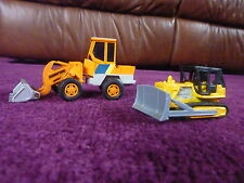 Unbranded Diecast Construction Vehicles