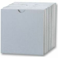 1000 CD Cardboard Sleeves With Thumbcut/ Wallet White - 1000 pack
