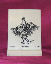 Indian Spirit Dancer Montana Marble Decorative Plaque