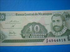 10 centavos Nicaragua  n/d