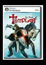 THE FIRST TEMPLAR Action Adventure Medieval PC Game, US Version, NEW, Rated T