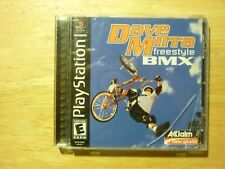 Dave Mirra Freestyle BMX Playstation PS1 **COMPLETE** *CIB**