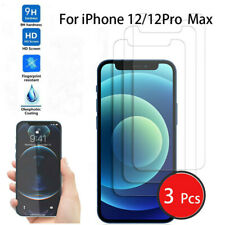 3pcs Tempered Glass Screen Protector For iPhone 12 Pro Max 12 Mini Accessories