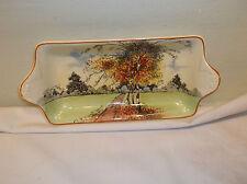 A Beautiful Antique  Royal Doulton Autumn Glory Small Sandwich Plate ca.1930