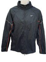 NEW Nike Betterworld Reflective Ventilated Lightweight Running Jacket Black M