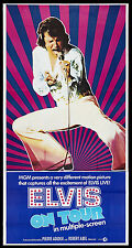 ELVIS ON TOUR ELVIS PRESLEY CONCERT DOCUMENTARY 1972 UNUSED 3-SHEET
