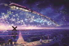 1000 Pieces Adult Puzzle Magic Train Fly Starry Sky Jigsaw Educational Toys Gift