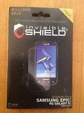 ZAGG Invisible Shield/ Screen Protector for Samsung Epic 4G Galaxy S Screen
