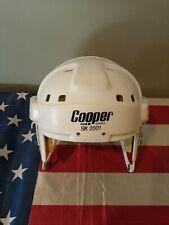 VTG 1979 Cooper SK 2001 Hockey Helmet goalie mask white