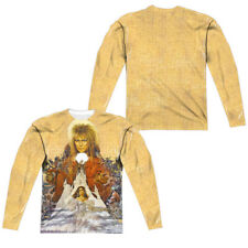 """Labyrinth """"Cover Art"""" Double Sided Dye Sublimation Long Sleeve T-Shirt"""