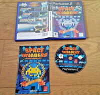 Space Invaders Anniversary for Sony Playstation 2 PS2 UK PAL Region 2