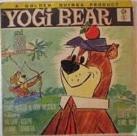 YOGI BEAR & BOO BOO (Hanna Barbera) Starring DAWS BUTLER & DON MESSICK VINYL LP