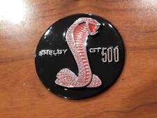 2007 2008 2009 2010 - 2014 MUSTANG SHELBY GT500 RED SNAKE STEERING WHEEL EMBLEM