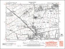 Yorkshire 1930-1939 Date Range Antique Europe Sheet Maps
