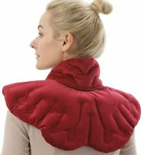 Aroma Season Heated Neck and Shoulder Heating Pad Herbal Wrap Red Butterfly Red