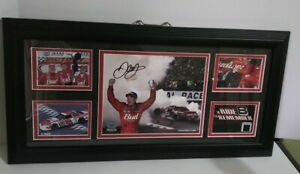 Mounted Memories Autograph Dale Earnhardt Jr Limited Edition A Ride To Remember