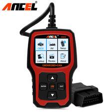 Ancel Code Reader OBDII Scanner O2 Sensor Test Check Engine Light I/M Readiness