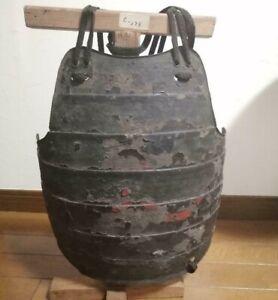 18Th EDO Era Real Old SAMURAI Armor YOROI Iron Body Plate Japanese Antique
