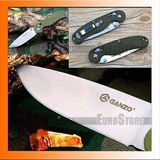 Authentisch Messer GANZO G727M-GR Klappmesser / 440C / G10 / Axis Lock / Grün