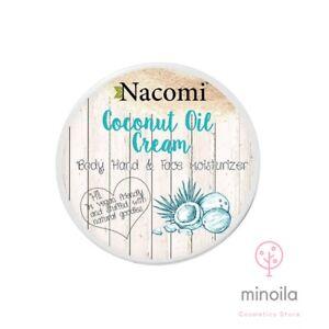 Coconut Oil Cream.Vegan friendly NACOMI 100ml.