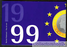 Coinset / Muntset Netherlands 1999 Gulden Queen Beatrix Unc