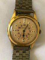 SWISS VINTAGE GOLD PLATED MECHANICALL HAND WINDING GIGANDET MENS WATCH