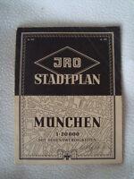 München - altes Strassennamen Verzeichnis mit Sehenswürdigkeiten