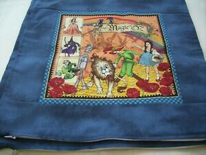 """Handmade pillow cover 16"""" x 16"""" The Wizard of Oz"""