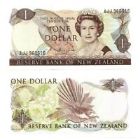 NEW ZEALAND $1 Dollar Banknote (1981 ND) P-169b Sign Russell UNC Paper Money