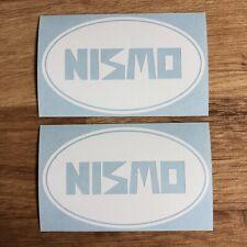 Nissan NISMO Stickers Vinyl Decal White JDM Drift Skyline S13 S14 S15 R32 R33