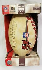 "2005 Nfl Tampa Bay Buccaneers Collectible Team Full Size 11"" Football w/Tee"